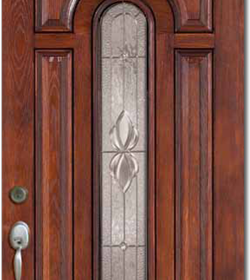 Wood grain fiberglass doors toronto front entry doors for Fiberglass entrance doors