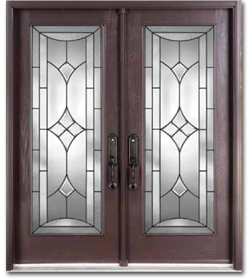 1261 #433334 Wood Grain Fiberglass Doors Markham Front Entry Doors Toronto pic Fiberglass Entry Doors With Glass 38611101