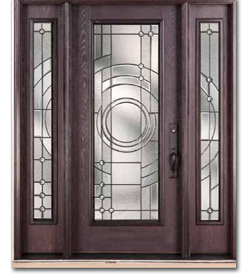 Wood grain fiberglass doors toronto front entry doors for Exterior fiberglass doors