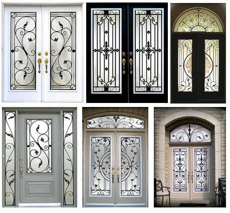 Wrought iron home decor windows our promotions front for Iron window design house